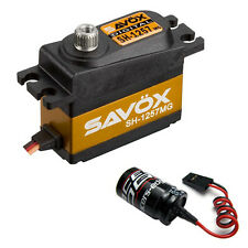 Savox SH-1257MG Super Speed Metal Gear Mini Digital Servo + Glitch Buster