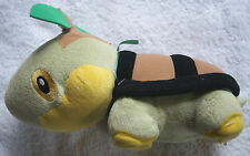 Jakks Pacific POKEMON TURTWIG turtle tree branch sound plush stuffed animal go