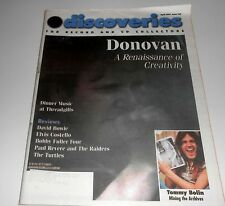 DISCoveries Music Magazine #107 April '97- DONOVAN - David Bowie, Turtles, etc.