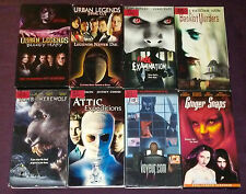LOT OF 8 00s HORROR VHS TAPES RARE HTF OOP URBAN LEGENDS TOMB OF THE WEREWOLF ++
