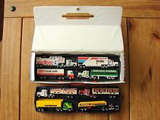 Matchbox convoy carry case with 8 convoys,all mint and rare.