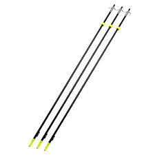 3pcs Ourtdoor Archery Arrow Fish hunter Black bow fishing arrows Safety Slides