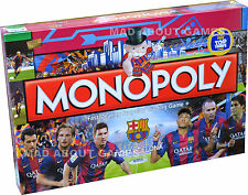 Monopoly OFFICIAL FC BARCELONA English Edition Football Board Game