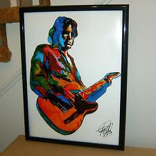 Jeff Buckley, Singer Songwriter, Guita, Rock Guitarist, 18x24 POSTER w/COA