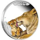 2014 50c Mother's Love Lioness 1/2oz Silver Proof Coin CERTIFICATE NUMBER: 826