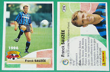FOOTBALL CARD PANINI 1994 FRANCK SAUZEE ATALANTA CALCIO ITALIA FRANCE 1993-94