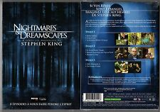NIGHTMARES & DREAMSCAPES - Stephen KING - Coffret 2 boitiers slim - 3 DVD - NEUF
