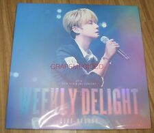 2016 SHIN HYE SUNG CONCERT WEEKLY DELIGHT LIVE VINYL LP + FOLDED POSTER SEALED