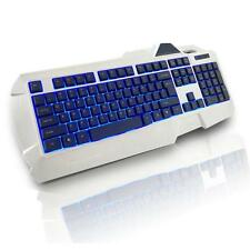 USB Wired LED Backlit Illuminated Gaming Game Keyboard for PC Laptop