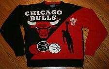 Chicago Bulls acrylic knit Sweater Men's Small Game 7 NBA Basketball Rare