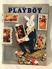 JANUARY 1973 PLAYBOY EXCELLENT Condition  PLAYMATE REVIEW Lenna Sjooblom ~ *L.N.