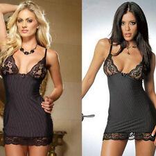 Womens Lace Dress Babydoll Lingerie Nightwear Underwear Sleepwear+Sexy G-String