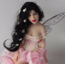 Adorable Pink Fairy by Cheryl Fornego OOAK Art Doll Polymer Sculpt Resale