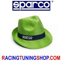 CAPPELLO MARE PANAMA SPARCO VERDE 099046VD SPARCO CAP WOMAN FOR SUMMER SEA