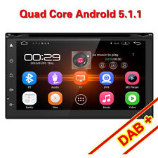 Car DVD WIFI GPS Navigation System In Dash Player Android 5.1 Double Din 7inch