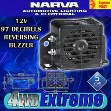 NARVA REVERSING ALARM BUZZER BEEPER 97 DECIBELS 12 VOLT 12V 72600