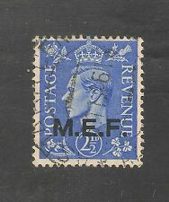 Great Britain M.E.F. #3 (A101) VF USED - 1942 2 1/2p King George VI