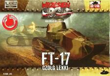 RENAULT FT 17 MITRAILLEUR (POLISH ARMY MKGS SEPTEMBER 1939) 1/72 FIRST TO FIGHT