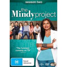 THE MINDY PROJECT-Season 2-Region 4-New AND Sealed-4 Discs Set-TV Series