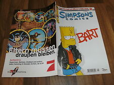 SIMPSONS COMICs  #  18 -- BART  // UNGELESEN / 1. Auflage  1998
