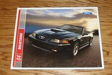 Original 2004 Ford Mustang Sales Brochure 04 GT Mach 1 V6