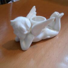 japanese pottery putti candle holder