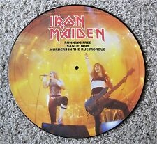 Iron Maiden - Running Free - Picture Disc - EMI 1985 - OP - NM