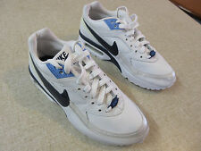 Girl's NIKE 'Air Max' Size 5Y US Shoes Runners White Blue Near New Youth Ladies