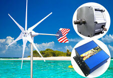 Patriot 1600 W PMA 12 V AC 6 Blade Wind Turbine Generator kit+Charge Controller