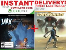 Max The Curse of Brotherhood Full Game Download Xbox 360 ONLY INSTANT DELIVERY!