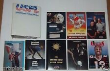 Vintage All Original 1984 USFL Western Conference Media Guides & Official Binder