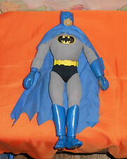 "vintage Mego 12 1/2"" MAGNETIC BATMAN with suit, cape, and belt"