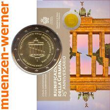 Sondermünzen San Marino: 2 Euro Münze 2015 Wiedervereinigung Sondermünze