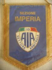 GAGLIARDETTO CALCIO UFFICIALE ASSOCIAZIONE ARBITRI F.I.G.C. SEZIONE IMPERIA