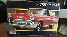 monogram 1/24 '57 chevy nomad model car kit