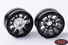 RC4WD Z-W0181 Black 1.9 Universal Beadlock Wheels (D2) (2)