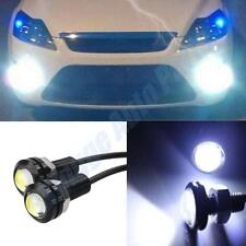 2Pcs Xenon White LED Eagle Eye Light Car Fog DRL For Motorcycle Car DC12v
