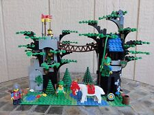 LEGO SYSTEM RARE VINTAGE ROBIN HOOD HIDEOUT FOREST KNIGHT CUSTOM SET