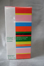 ESSENCE OF UNITED COLORS OF BENETTON 3.3 / 3.4 OZ / 100 ML EDT SPRAY WOMAN