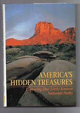 NATIONAL GEOGRAPHIC SOCIETY, AMERICA'S HIDDEN TREASURES BOOK, VERY COLORFUL,