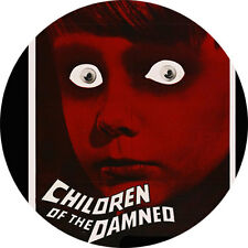 CHAPA/BADGE CHILDREN OF THE DAMNED . terror science fiction village anton m lead