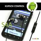 Klipsch Image S4A Earbud Headphones For Android Phones. Noise-Isolating. Save!!
