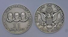 {BJStamps}  APOLLO 11 Armstrong Collins Aldrin 1.550 ozt .999 fine SILVER