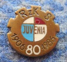 JUVENIA KRAKOW 80 ANNIVERSARY POLAND RUGBY CHESS WEIGHTLIFTING CLUB PIN BADGE
