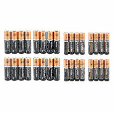 Lot 32PCS AA &AAA Alkaline Duracell Batteries 1.5v Single Use Fresh Battery Set