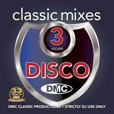 DMC Classic Mixes - Disco Vol 3 Music DJ CD