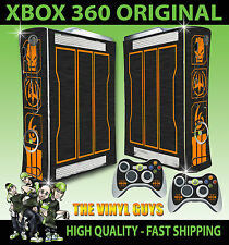 XBOX 360 ORIGINAL CALL OF DUTY SPECIAL EDITION BLACK OPS III SKIN X 2 PAD SKINS