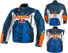 GIACCA JACKET CROSS ENDURO KINI RED BULL COMPETITION NAVY ORANGE KTM TG L