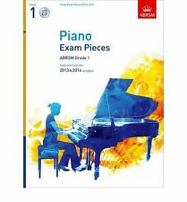 Piano Exam Pieces 2013 & 2014, ABRSM Grade 1, with CD : Selected from the 2013 &