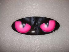 FORD Emblem mit wunderschönem Airbrush pinke Katzen Augen II Ford Oval Sign